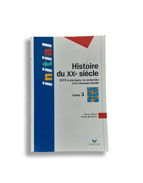 Couverture de Histoire du xx siecle t.3